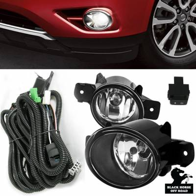 Black Horse Off Road - P | OEM Replica Fog Light | Color: Clear