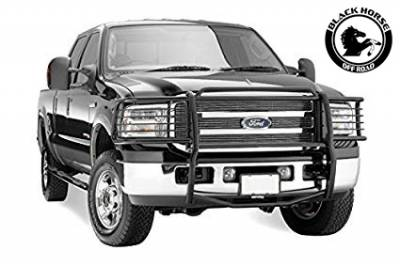 Black Horse Off Road - D | Grille Guard | Black | 17FB23MA - Image 1