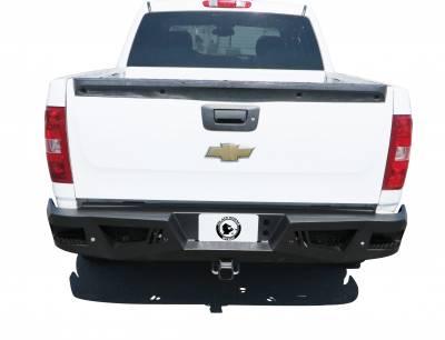 Black Horse Off Road - I |Heavy DutyArmour Rear Bumper | Black