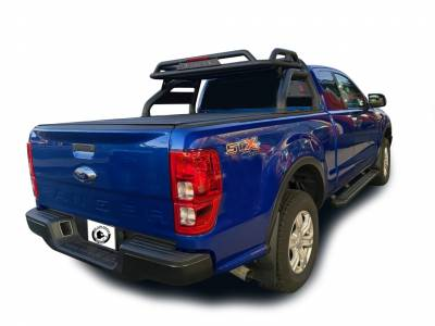 Black Horse Off Road - J | Atlas Roll Bar | Black | Tonneau Cover Compatible |  ATRB10BK