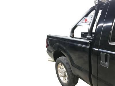 Black Horse Off Road - J   Classic Roll Bar KIT   Black   Tonneau Cover Compatible RB005BK-KIT