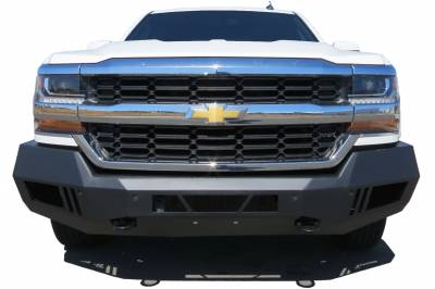 Black Horse Off Road - B | Armour Front Bumper | Black | AFB-SI16