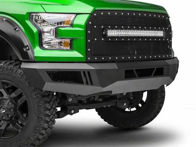 Black Horse Off Road - B | Armour Front Bumper | Black | AFB-RA25-10
