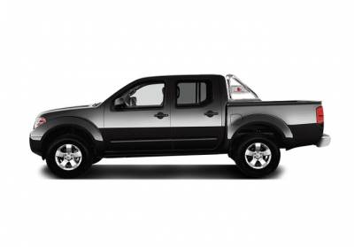 Black Horse Off Road - J   Classic Roll Bar   Stainless Steel  Tonneau Cover Compatible RB007SS