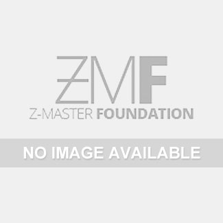 """Black Horse Off Road - D   Grille Guard Kit   Stainless   With Set of 7"""" Red LED"""