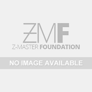 Black Horse Off Road - D | Rugged Grille Guard Kit | Black | With 20in Single LED Light Bar | RU-GMSI20-B-K2