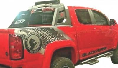 Black Horse Off Road - J   Armour Roll Bar KIT   Black   RB-AR3B-KIT