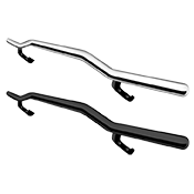 Single Tube Rear Bumper Guards