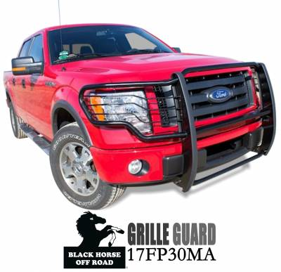 Black Horse Off Road - Grille Guard 17FP30MA - Black Ford F-150 - Image 3