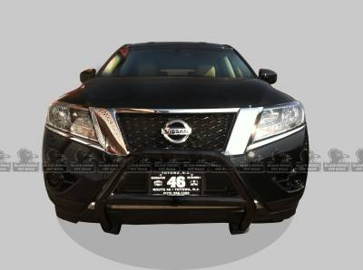 Front End Protection - Sport Bars - Black Horse Off Road - Sport Bar BB110412A - Black Nissan Pathfinder
