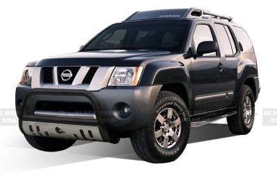 Black Horse Off Road - Bull Bar BBNIEXBS-SP - Black with Stainless Steel Skid Plate Nissan Xterra - Image 2
