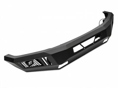 Black Horse Off Road - Black Horse Armour Front Bumper Black AFB-F115 for 2015-2017 Ford F150 Protector - Image 4