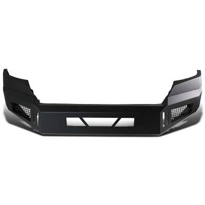 Black Horse Off Road - Black Horse Black Armour Front HD Bumper NO lights AFB-TA16  | 2016 to 2019 Toyota Tacoma - Image 3