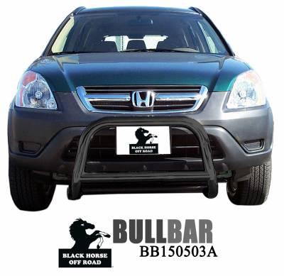Front End Protection - Sport Bars - Black Horse Off Road - Sport Bar BB150503A - Black Honda CR-V