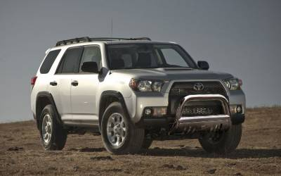 Black Horse Off Road - Bull Bar BB80236-SP - Stainless Steel with Stainless Steel Skid Plate Toyota 4Runner - Image 2