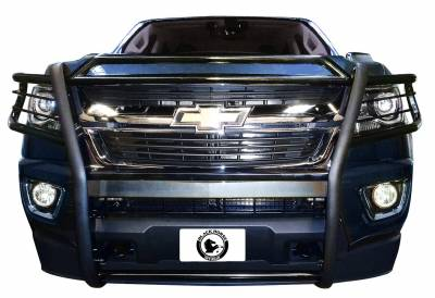 Front End Protection - Grille Guards - Black Horse Off Road - D | Grille Guard | Black | 17GC15MA