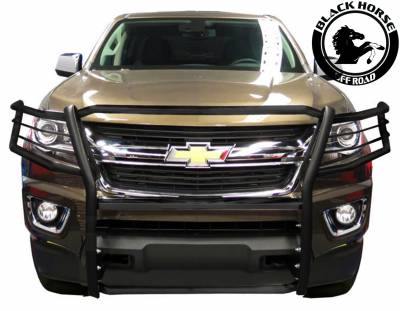 Black Horse Off Road - Grille Guard 17GC15MA - Black | Colorado - Image 2