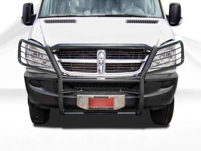 Front End Protection - Grille Guards - Black Horse Off Road - Grille Guard 17D502MA - Black Dodge Sprinter 07-17