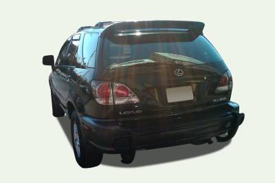 Black Horse Off Road - G | Rear Bumper Guard | Black | Double Tube - Image 3