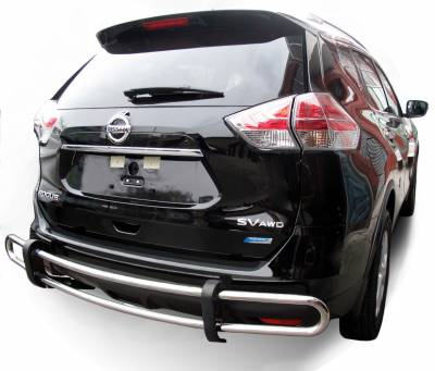 Black Horse Off Road - G | Rear Bumper Guard | Stainless Steel | Double Tube - Image 2