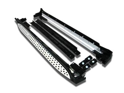 Side Steps & Running Boards - OEM Running Boards - Black Horse Off Road - OEM Running Boards RMW164 Mercedes-Benz ML63 AMG