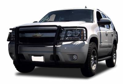 Front End Protection - Grille Guards - Black Horse Off Road - Grille Guard 17A037400MA - Black | Chevrolet Tahoe, Avalanche 1500, Suburban 1500