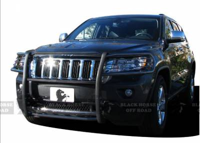 Black Horse Off Road - Grille Guard 17A080202MA - Black Jeep Grand Cherokee