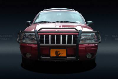 Front End Protection - Grille Guards - Black Horse Off Road - Grille Guard 17EB26MA - Black Jeep Grand Cherokee