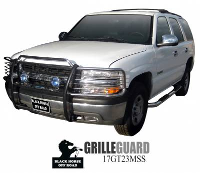 Black Horse Off Road - D | Grille Guard | Stainless Steel - Image 2