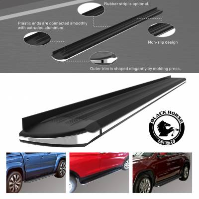 Black Horse Off Road - Exceed Running Boards Chevrolet Equinox 2010-2017 - Image 2