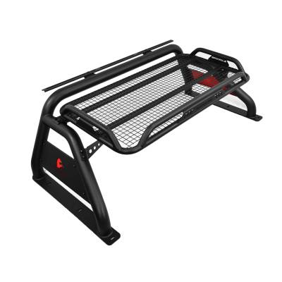 Products - Roll Bars - Black Horse Off Road - Atlas Roll Bar RB-BA1B - Black for Ford 550, 450, 350, 250, 150