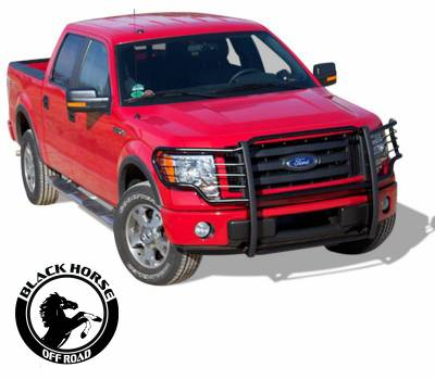 Black Horse Off Road - Grille Guard 17FP32MA - Black | Ford F-150 '15-'17