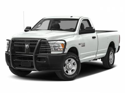 Black Horse Off Road - 10-18 Dodge RAM 2500/3500 Black Modular Grille Guard