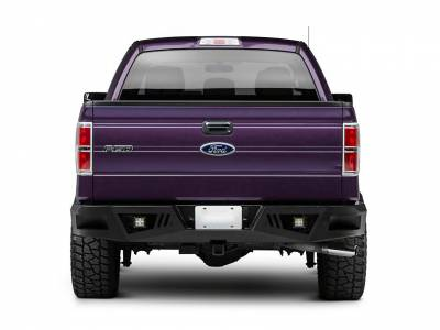 Black Horse Off Road - 06-14 Ford F150 - ARMOUR Rear Bumper - Image 3