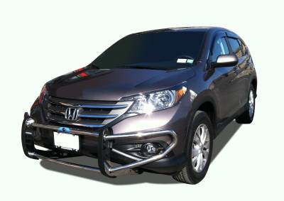 Front End Protection - Front Runners - Black Horse Off Road - Front Runner FD-HO20S - Stainless Steel Honda Pilot