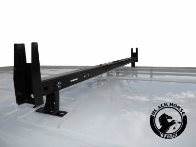 Black Horse Off Road - Traveler Commercial Roof Rack for Transit, Transit Connect, Chevy City Express, Metris, Nissan NV200/1500/2500/3500, Ram Promaster - Image 4