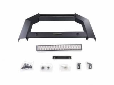 Black Horse Off Road - Armour Bull Bar For 10-18 Dodge Ram 2500/3500 (W/ Parking Sensor Relocation Kit)- NO LED LIGHT - Image 3