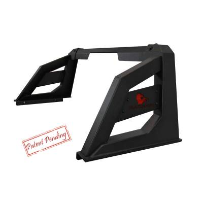 Black Horse Off Road - Black Horse Off Road Armour Roll Bar Kit RB-AR1B Black Steel Chevy Silverado/ Toyota Tundra/ GMC Sierra/Ford F150/ RAM 1500 - Image 3