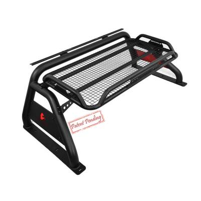 Products - Roll Bars - Black Horse Off Road - Atlas Roll Bar ATRB-TOTAB - Black Fits Toyota Tacoma 16-19