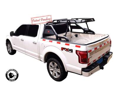 Black Horse Off Road - J | Warrior Roll Bar | Black | Compabitle With Most 1/2 Ton Trucks