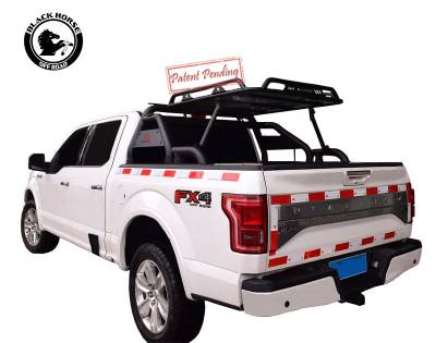 Products - Roll Bars - Black Horse Off Road - Warrior Roll Bar for Chevrolet Silverado, GMC Sierra, Toyota Tundra, Ford, Ram