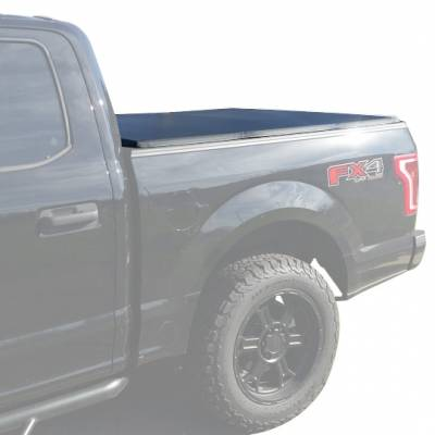 Products - Tonneau Covers - Black Horse Off Road - Tonneau Cover for Toyota Tundra  6.6ft 2014-2017