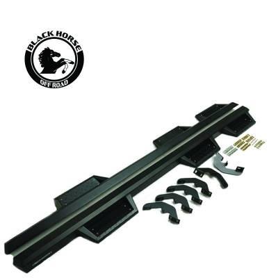 Black Horse Off Road - F   Superior Side Steps WTW   Black - Image 2