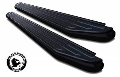 Black Horse Off Road - 11-19 DODGE DURANGO (Excl. RT & GT Model)(No Drilling/Cutting Required) PEERLESS RUNNING BOARDS - Image 8
