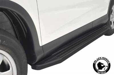Black Horse Off Road - 11-19 DODGE DURANGO (Excl. RT & GT Model)(No Drilling/Cutting Required) PEERLESS RUNNING BOARDS - Image 10