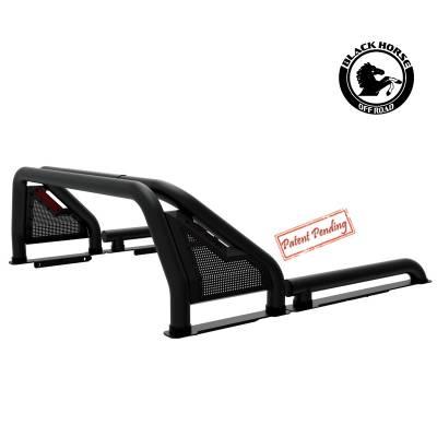 Black Horse Off Road - Black Horse Black Gladiator Roll Bar GLRB-01B- Universal fit - Image 3