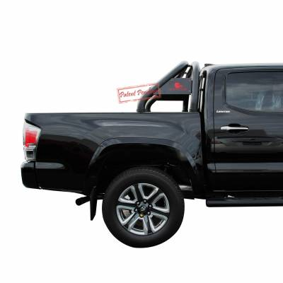 Black Horse Off Road - Roll Bar RB-TOTAB - Black | Fits 16-19 Toyota Tacoma - Image 7