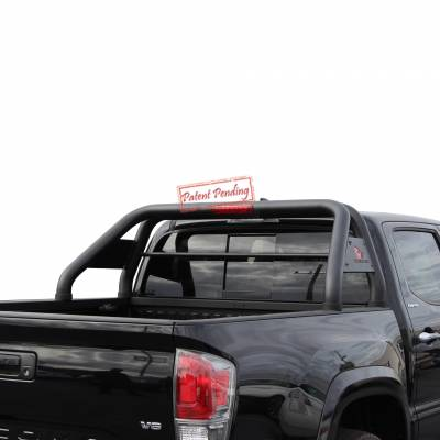 Products - Roll Bars - Black Horse Off Road - J | Classic Roll Bar | Black | RB003BK