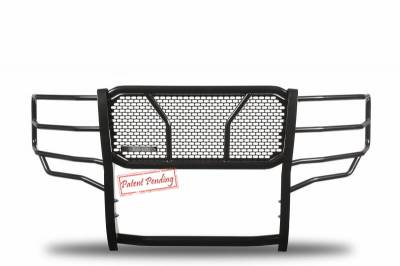 Black Horse Off Road - D | Rugged Grille Guard Kit | Black | With 20in LED Light Bar