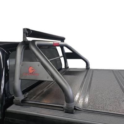 Black Horse Off Road - Black Horse Black Roll Bar RB001BK | Fits Ram, Ford, Chevrolet, GMC, Toyota - Image 3